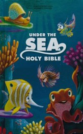 NIrV Under the Sea Holy Bible, printed hardcover - Imperfectly Imprinted Bibles