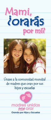 Moms in Prayer Brochure - Spanish, 25 Pack