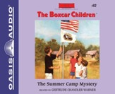 #82: The Summer Camp Mystery Unabridged Audiobook on CD