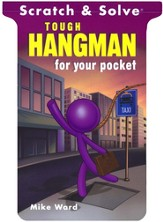 Scratch & Solve Tough Hangman for your Pocket