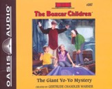 #107: The Giant Yo-Yo Mystery: unabridged audiobook on CD