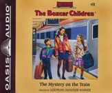 The Mystery on the Train- unabridged audiobook on CD