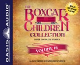 The Boxcar Children Collection Volume 16: The Chocolate Sundae Mystery, The Mystery of the Hot Air Balloon, The Mystery Bookstore Unabridged Audiobook on CD