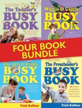 Busy Book Bundle: Over 1400 Creative Learning Games and Activities to Keep Your Children Busy - eBook