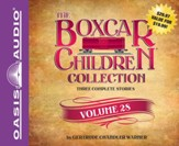 The Boxcar Children Collection Volume 28: The Summer Camp Mystery, The Copycat Mystery, The Haunted Clock Tower Mystery Unabridged Audiobook on CD