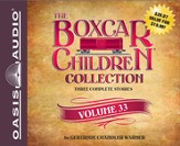 The Boxcar Children Collection Volume 33: The Radio Mystery, The Mystery of the Runaway Ghost, The Finders Keepers Mystery Unabridged Audiobook on CD