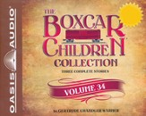 The Boxcar Children Collection Volume 34: The Mystery of the Haunted Boxcar, The Clue in the Corn Maze, The Ghost of the Chattering Bones - unabridged audiobook on CD