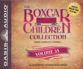 The Boxcar Children Collection Volume 35: The Sword of the Silver Knight, The Game Store Mystery, The Mystery of the Orphan - unabridged audiobook on CD