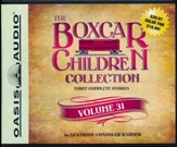 The Boxcar Children Collection Volume 31: The Mystery at Skeleton Point, The Tattletale Mystery, The Comic Book Mystery - unabridged audiobook on CD