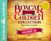 The Boxcar Children Collection Volume 39: The Great Detective Race, The Ghost at the Drive-In Movie, The Mystery of the Traveling Tomatoes - unabridged audiobook on CD
