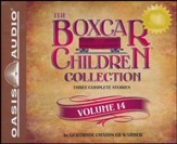 The Boxcar Children Collection Volume 14: The Canoe Trip Mystery, The Mystery of the Hidden Beach, The Mystery of the Missing Cat - Unabridged audiobook on CD