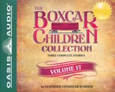 The Boxcar Children Collection Volume 17: The Mystery of the Stolen Boxcar, The Mystery in the Cave, The Mystery on the Train- unabridged audiobook on CD