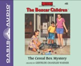 The Cereal Box Mystery - unabridged audio book on CD