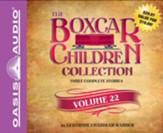 The Boxcar Children Collection Volume 22: The Black Pearl Mystery, The Cereal Box Mystery, The Panther Mystery - unabridged audio book on CD