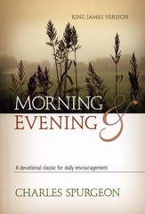 Morning and Evening, Original KJV Edition - Slightly Imperfect