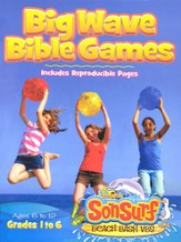 Big Wave Bible Games: Includes Reproducible Pages, Ages 6-12, Grades 1-6