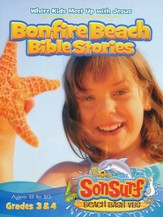 Bonfire Beach Bible Stories: Where Kids Meet Up with Jesus, Ages 8 to 10, Grades 3 & 4