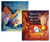 Molly Schaar Idle Flip Over Book: Nighty, Night, Noah and Nighty, Night, Baby Jesus