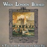When London Burned: A Tale of the Plague and the Great Fire MP3 Audio CD