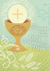 Blessings on Your First Communion Cards
