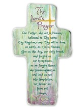 The Lord's Prayer, Cross Plaque