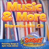 SonSurf Music & More Reproducible CD: Featuring Songs in Split-Track Stereo!