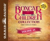 The Boxcar Children Collection Volume 44: The Boardwalk Mystery, Mystery of the Fallen Treasure, The Return of the Graveyard Ghost - unabridged audio book on CD