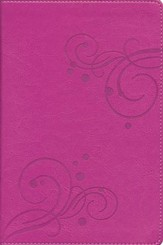 Nueva Biblia de Regalo NVI, Dos Tonos Italiano, Rosado (New NVI Award Bible, Italian Duo-Tone Rose) - Slightly Imperfect