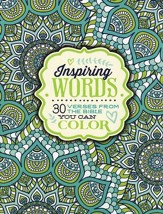 Inspiring Words: 30 Verses from the Bible You Can Color  - Slightly Imperfect