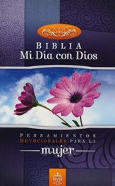 Biblia Mi Dia con Dios RVR 1960, End. Rústica  (RVR 1960 My Day with God Bible, Softcover)
