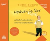 Heaven is for Real - unabridged audio book on MP3-CD