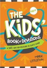 The Kids' Book of Devotions Updated Edition: A 365-Day Adventure in God's Word - eBook