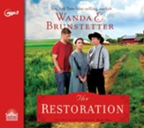 The Restoration - unabridged audio book on CD