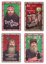 Duck Dynasty Assorted Christmas Cards, Box of 16