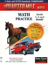 The Quarter Mile Math: Grades K-9 Bundle Single CD-ROM