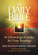 NIV Daily Bible: In Chronological Order Softcover 1984