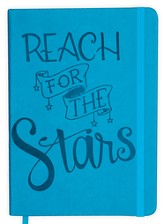 Reach for the Stars Notebook, Light Blue