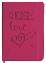 Choose Love Notebook, Red