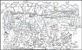 SonRise National Park Coloring Mural (77 x 44)