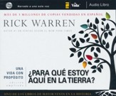 ¿Para Qué Estoy Aquí en la Tierra? Audiolibro  (What On Earth Am I Here For? Audiobook)