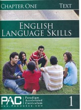 PAC English 1: Language Skills Student Text, Chapter 1