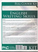 English 3: Writing Skills--Full Course Kit
