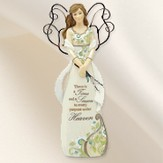 There is a Time and Season Angel Figurine