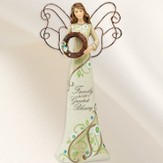 Family is Life's Greatest Blessing Angel Figurine