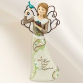 A Kind Heart Brings Happiness Angel Figurine