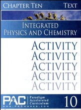 Integrated Physics and Chemistry Activity Booklet, Chapter 10