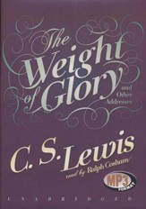 The Weight of Glory - unabridged audiobook on MP3-CD