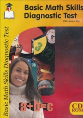 Basic Math Skills Diagnostic Test CD