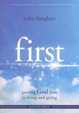 first: Putting God first in Living and Giving -  Devotional