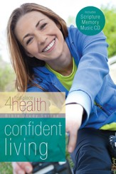 Confident Living, First Place 4 Health Bible Study with Scripture Memory CD  - Slightly Imperfect
